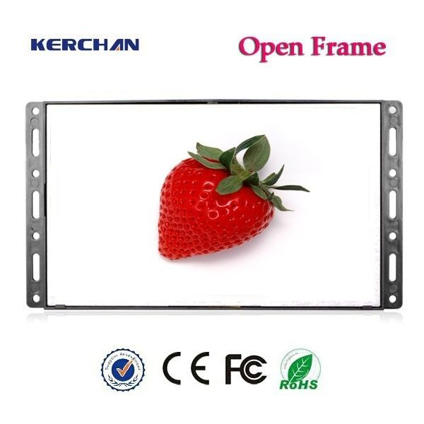Plastic Open Frame Retail LCD Screens With Motion Sensor Activation