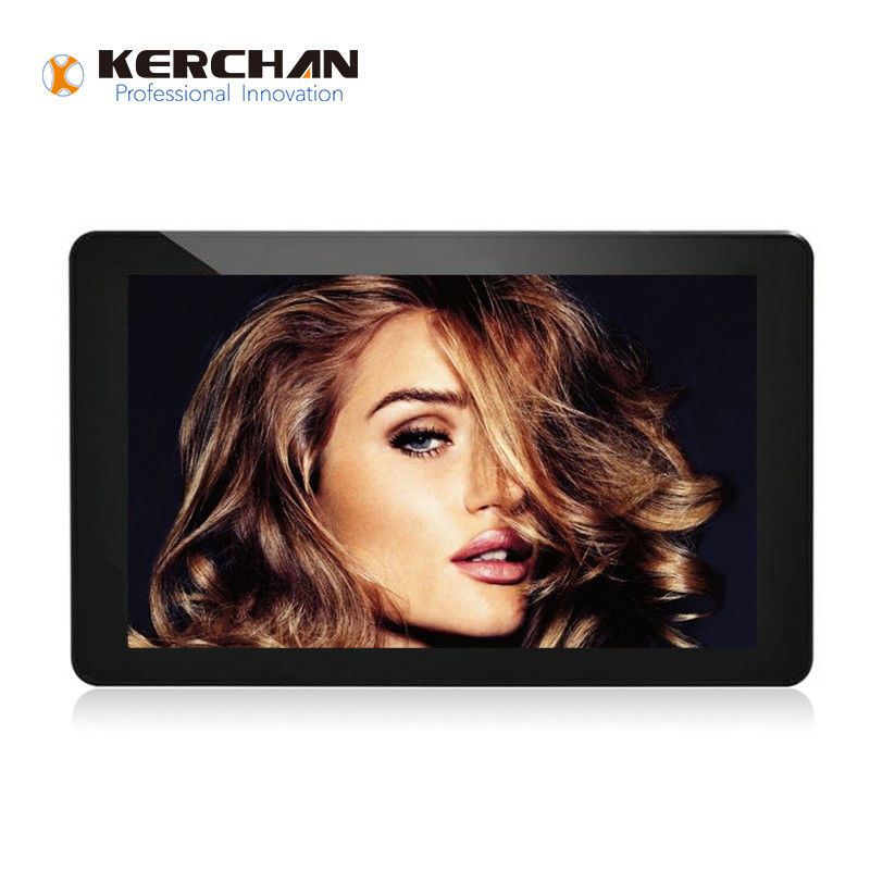 10 Inch Wall Mount Retail LCD Screens closed Framed With Low Power Consumption