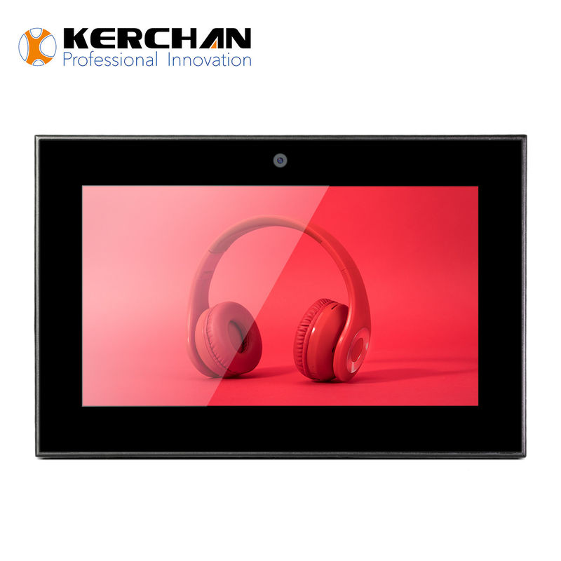 Commercial 7 Inch LCD Touch Screen , Digital Shop Display Auto Power On Off