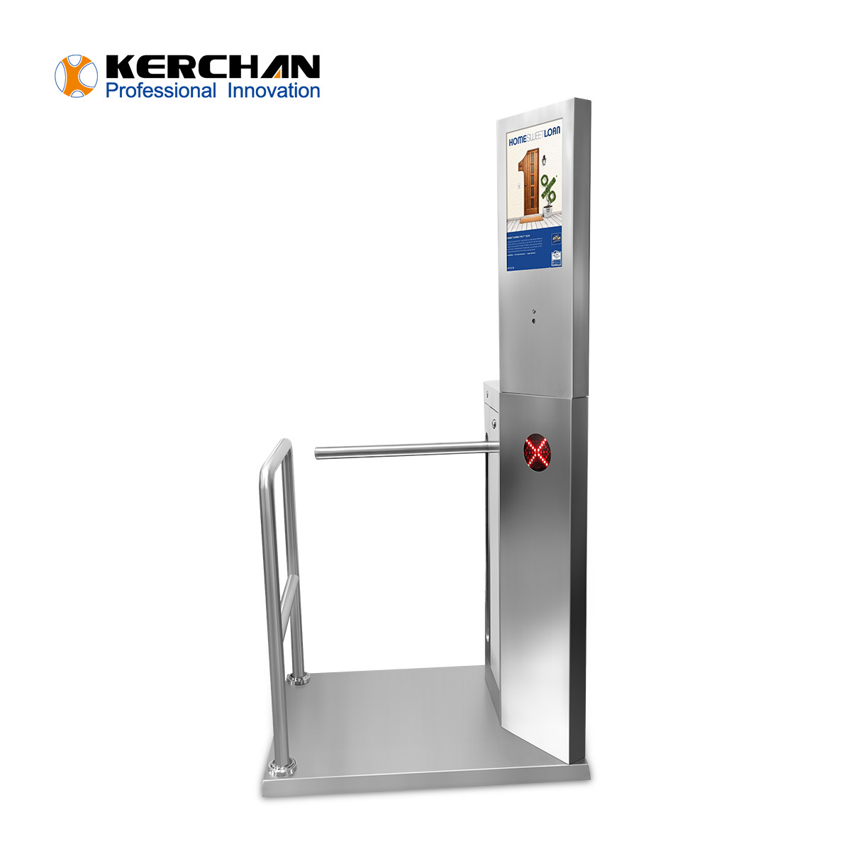 15.6'' Access Control Turnstile Gate